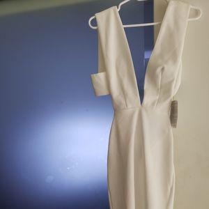White Solace London Bodycon Dress